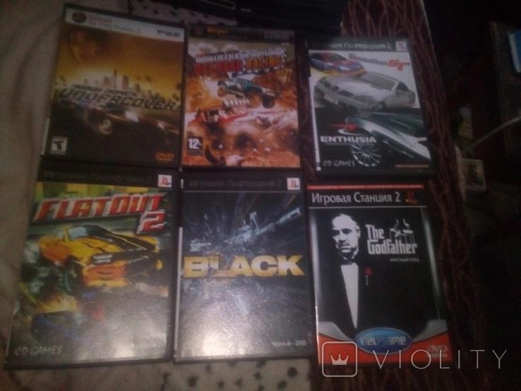 Игры PS 2 60 штук, фото №9