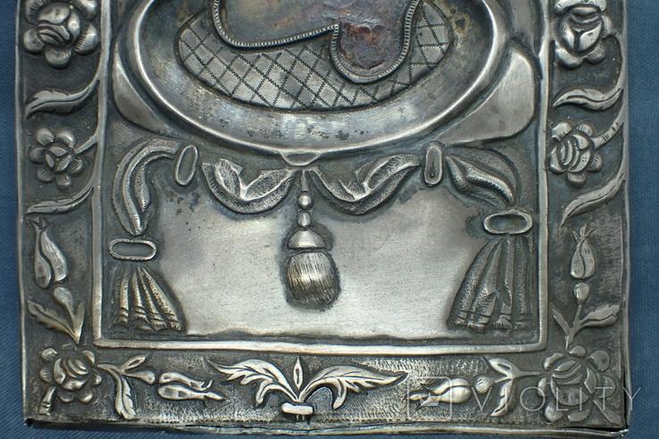 Серебрянная икона Иоанна Предтечи, фото №7