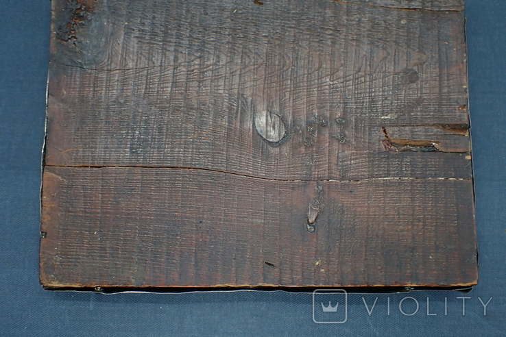 Серебрянная икона Иоанна Предтечи, фото №10