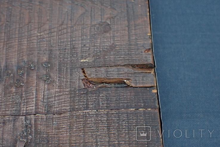Серебрянная икона Иоанна Предтечи, фото №11