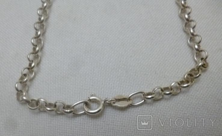 Подвеска на цепочке серебро 925., фото №6