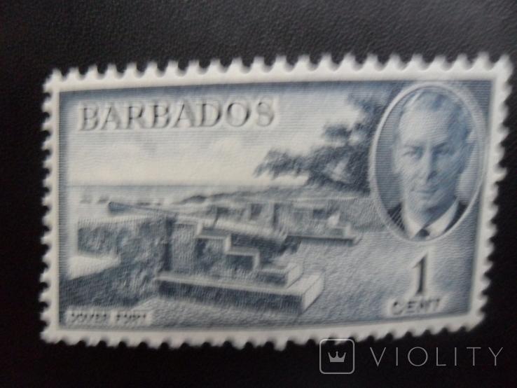 Британские колонии. Барбадос.   MLH, фото №2