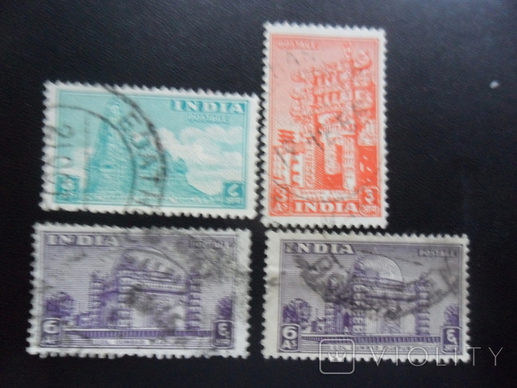 Британские колонии. Индия. 1949 г.  гаш