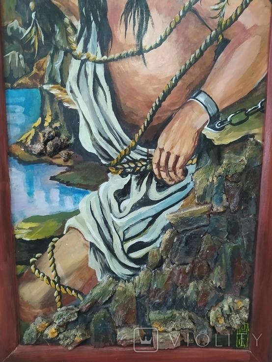 Картина маслом. Библейский сюжет., фото №5