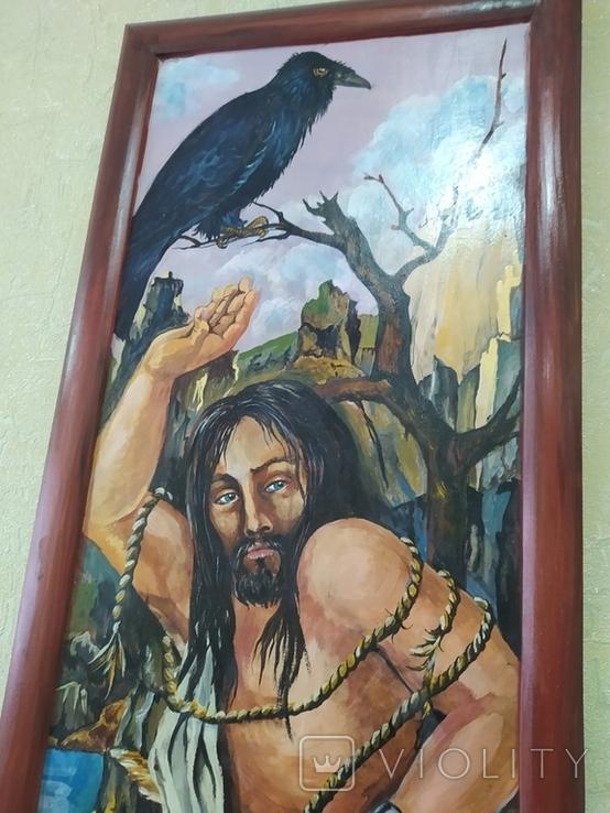 Картина маслом. Библейский сюжет., фото №6