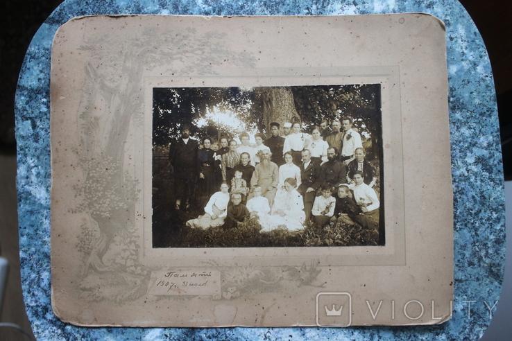 Семейное фото 1907 год, фото №3