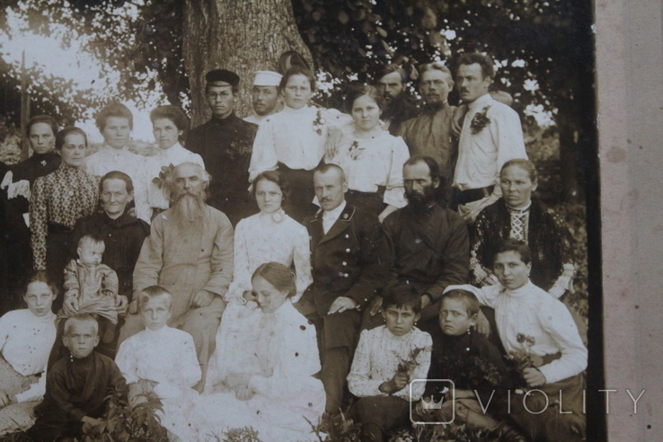 Семейное фото 1907 год, фото №6