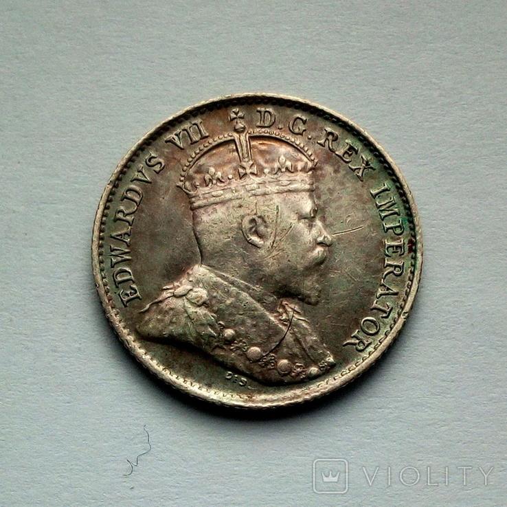 Канада 5 центов 1906 г. - Эдуард VII, фото №2