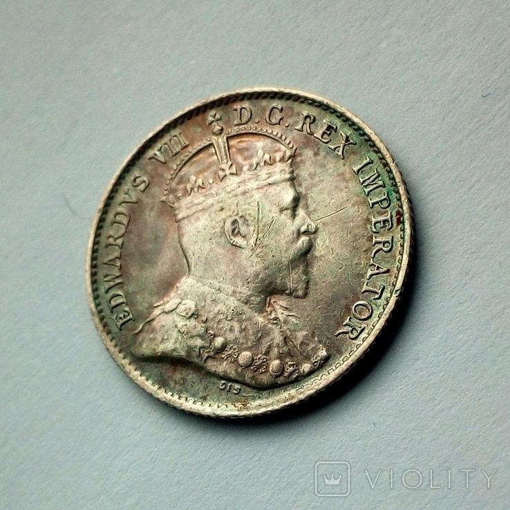Канада 5 центов 1906 г. - Эдуард VII, фото №4
