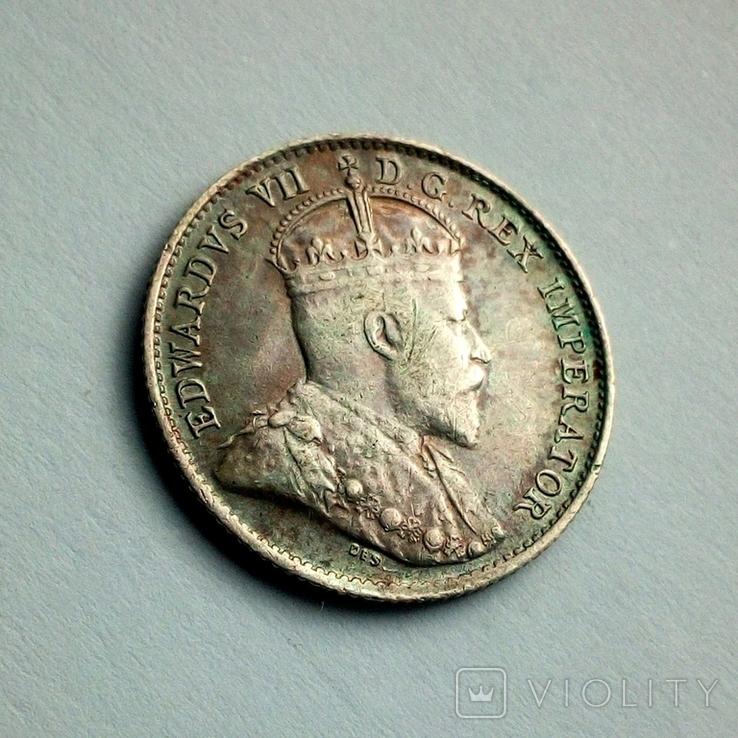 Канада 5 центов 1906 г. - Эдуард VII, фото №5