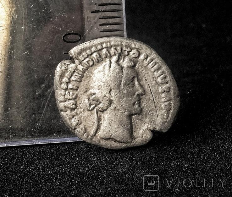Денарий Antoninus Pius -Tranquillitas  RIC 218