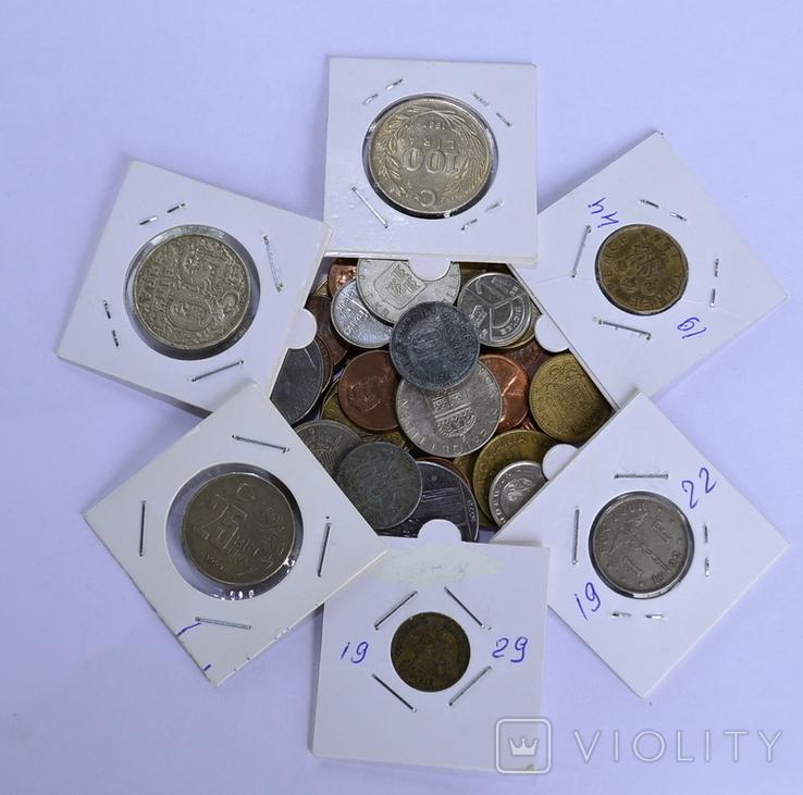 Монети Європи (холдери) 42 штук №4, фото №3