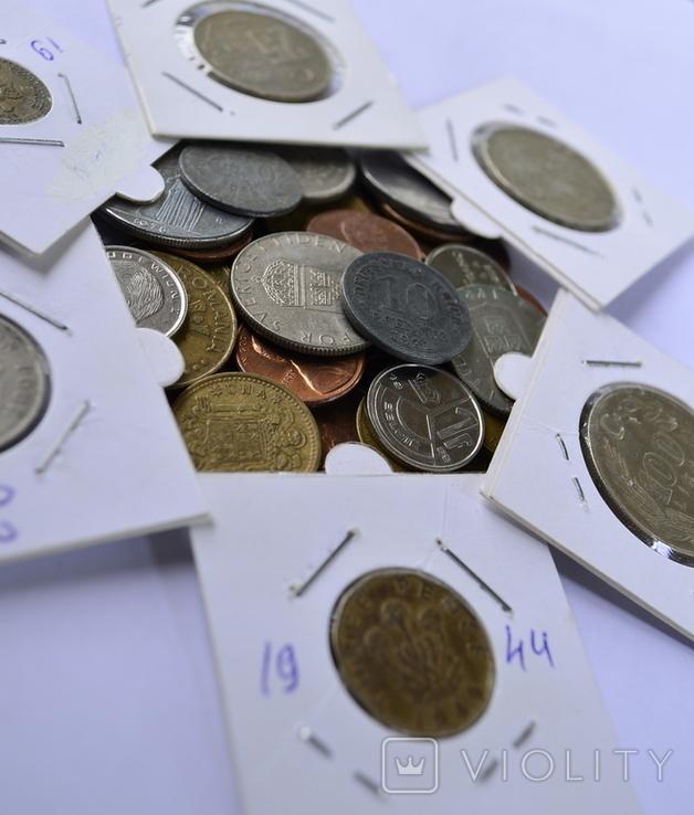 Монети Європи (холдери) 42 штук №4, фото №5