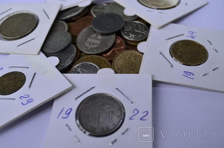 Монети Європи (холдери) 42 штук №4, фото №2
