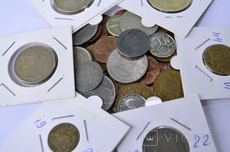 Монети Європи (холдери) 42 штук №4, фото №8