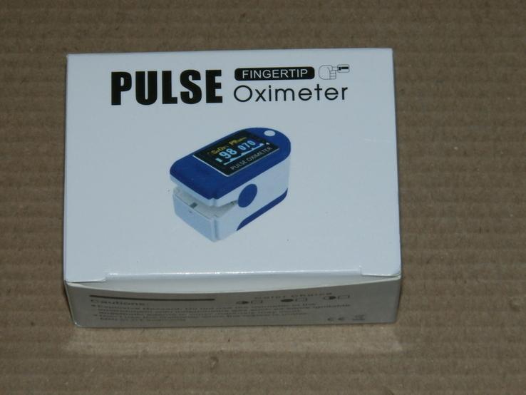 Пульсометр для измерения частоты пульса и уровня кислорода в крови, фото №2