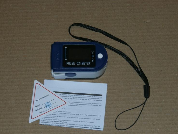 Пульсометр для измерения частоты пульса и уровня кислорода в крови, фото №4