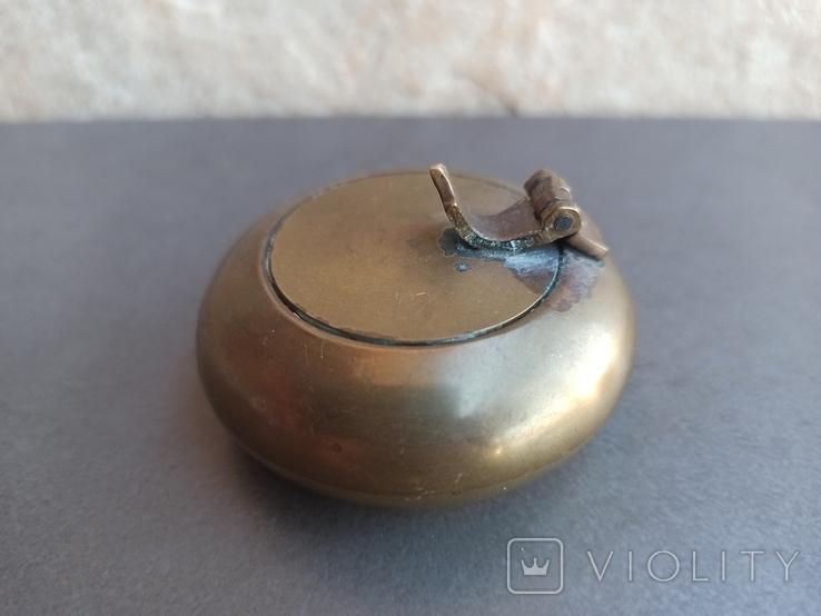 Пепельница бронза, Испания. Л992, фото №7