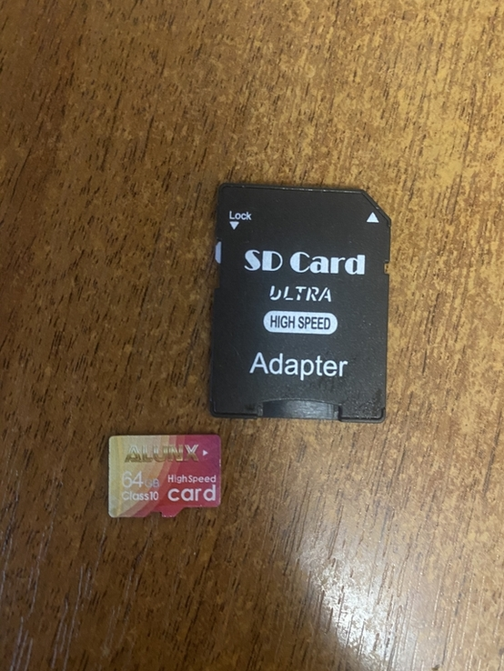 Флешка MicroSD 64gb карта памяті + адаптер