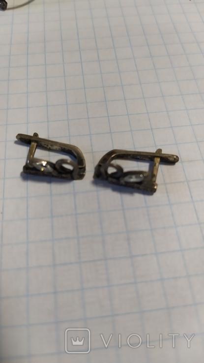 Серебренный набор 925 Украина.3., фото №6