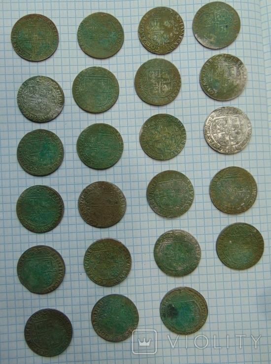 507 серебрянных монет и обломки горшка, фото №4