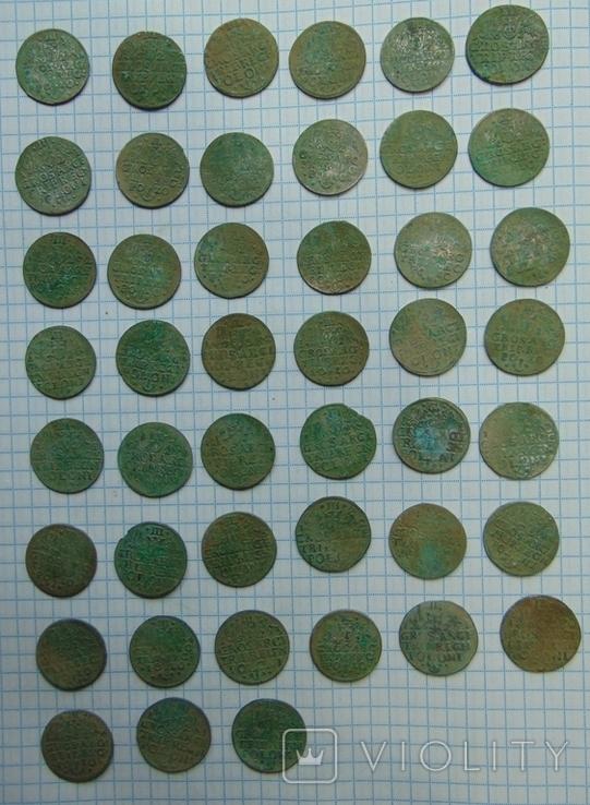507 серебрянных монет и обломки горшка, фото №7