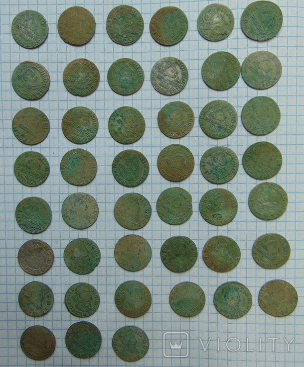 507 серебрянных монет и обломки горшка, фото №8
