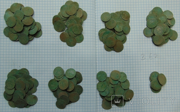 507 серебрянных монет и обломки горшка, фото №11