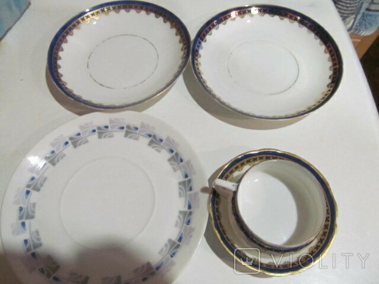 Посуда Гарднер и бонус тарелка, фото №2