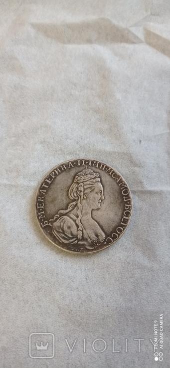 Копия рубля 1779 года, фото №7