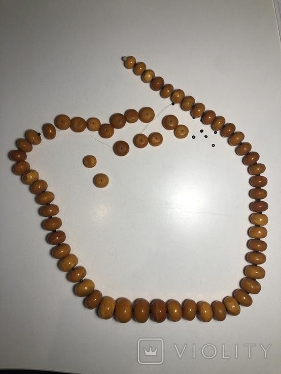 Янтарные бусы, фото №3