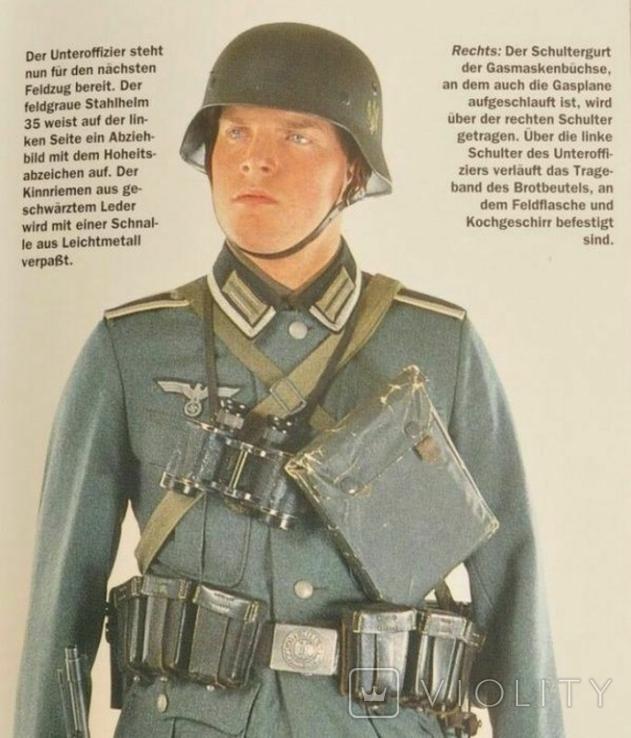 Полевой бинокль вермахт Goerz Dienst Glas 8-26 D.R.P.с сеткой, фото №3
