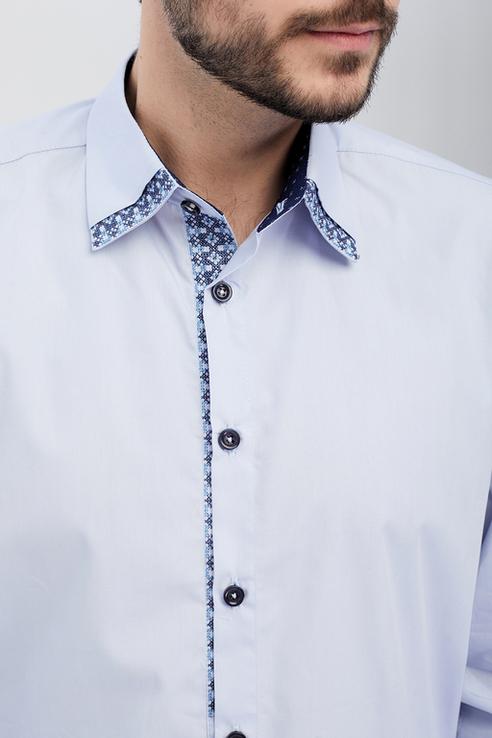 Сорочка чоловіча Дарен (сорочкова блакитна), фото №3