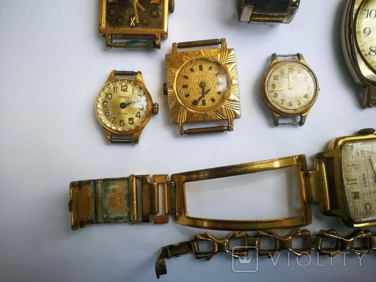 15 Часы СССР в позолоте Ау, Au, фото №7
