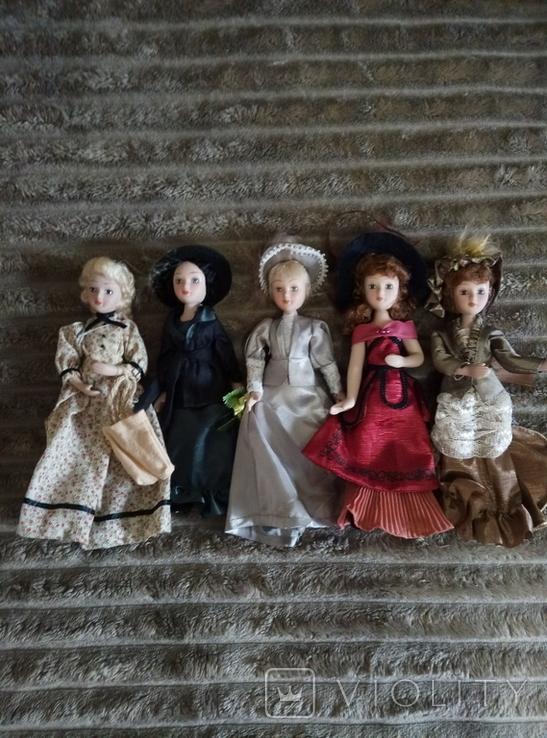 Фарфоровые куклы (Дама эпохи. Моя коллекция кукол), фото №2