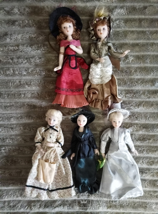 Фарфоровые куклы (Дама эпохи. Моя коллекция кукол), фото №4