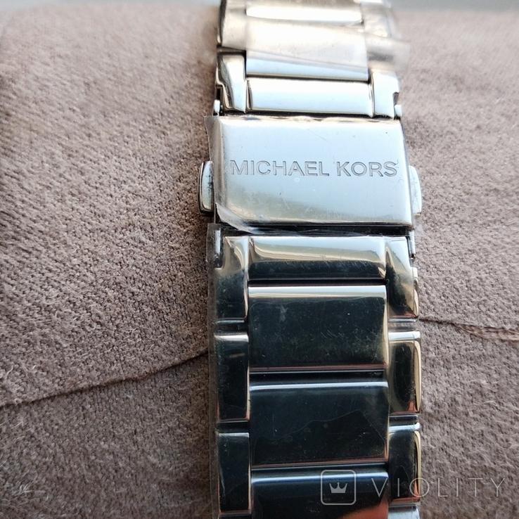 Часы с хронографом Michael Kors Parker MK6105 с кристаллами Swarovski , новые, фото №6