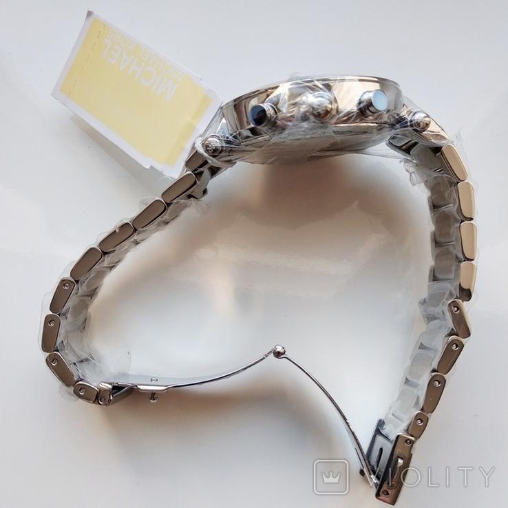 Часы с хронографом Michael Kors Parker MK6105 с кристаллами Swarovski , новые, фото №8