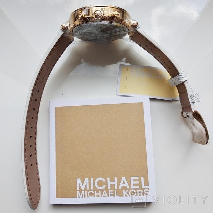 Часы с хронографом Michael Kors Parker MK2290 с кристаллами Swarovski , новые, фото №8