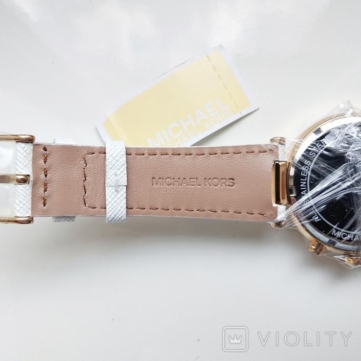 Часы с хронографом Michael Kors Parker MK2290 с кристаллами Swarovski , новые, фото №9