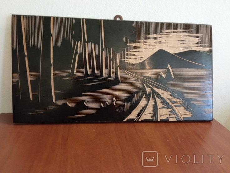 Чеканка деревянная Драчинская фабрика, фото №2