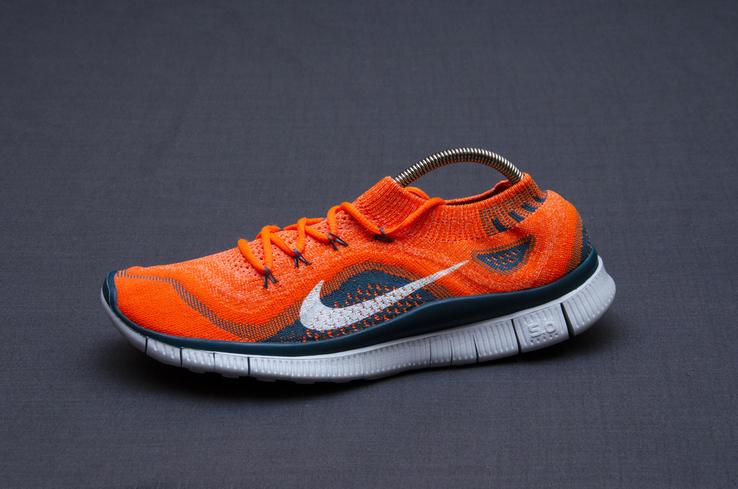 Кроссовки Nike Free 5. 0 Flyknit. Стелька 24,5 см, фото №2