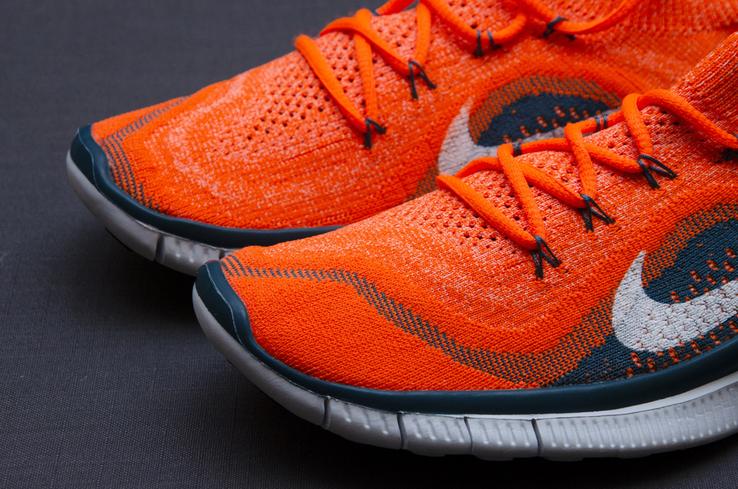 Кроссовки Nike Free 5. 0 Flyknit. Стелька 24,5 см, фото №3