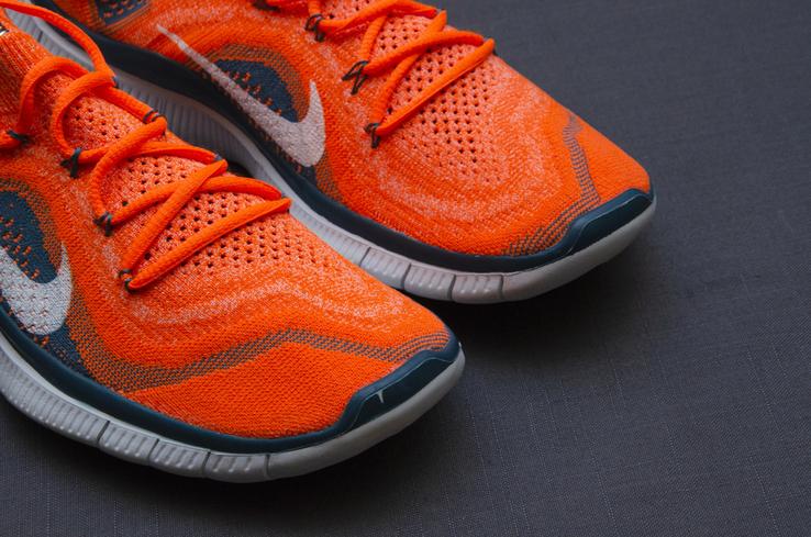 Кроссовки Nike Free 5. 0 Flyknit. Стелька 24,5 см, фото №4