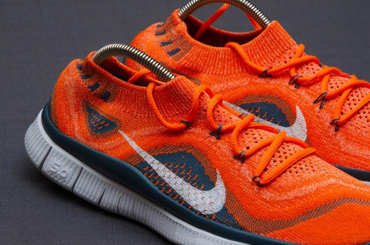 Кроссовки Nike Free 5. 0 Flyknit. Стелька 24,5 см, фото №5