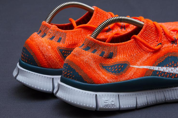 Кроссовки Nike Free 5. 0 Flyknit. Стелька 24,5 см, фото №6