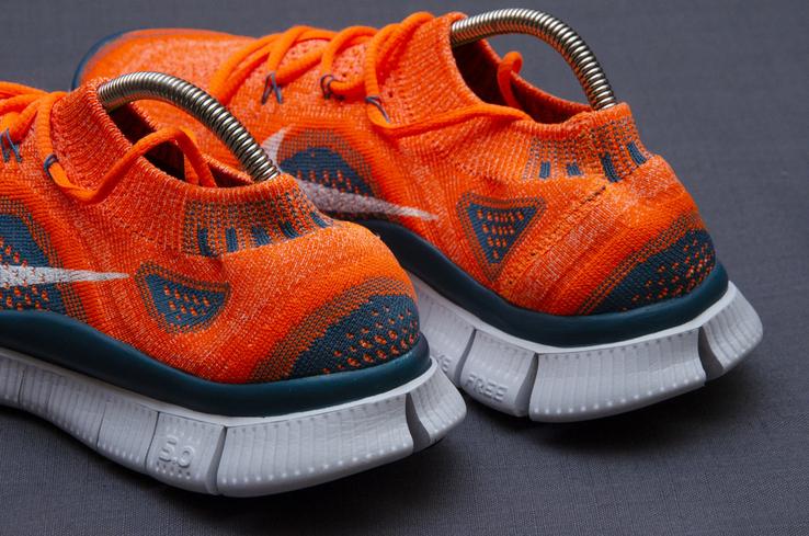 Кроссовки Nike Free 5. 0 Flyknit. Стелька 24,5 см, фото №7