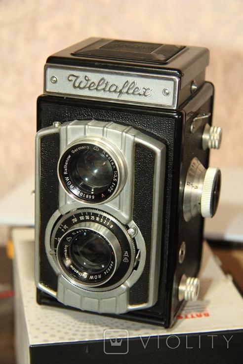 Фотокамера WELTA Weltaflex(Rectan 3.5/75mm), фото №4