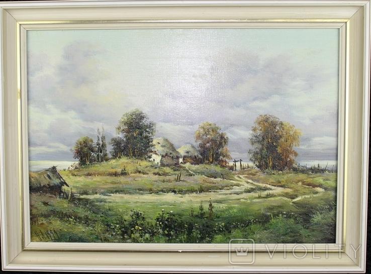 Рідна хата М.Луговенко 1999р., фото №2