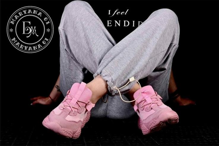 Женские кроссовки Adidas Yeezy Spiy-550 / розовые 37 размер, фото №5